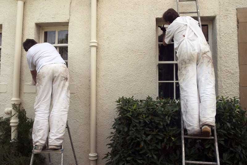 The cost of exterior house painting genesis pro painting - Exterior home painting cost ...