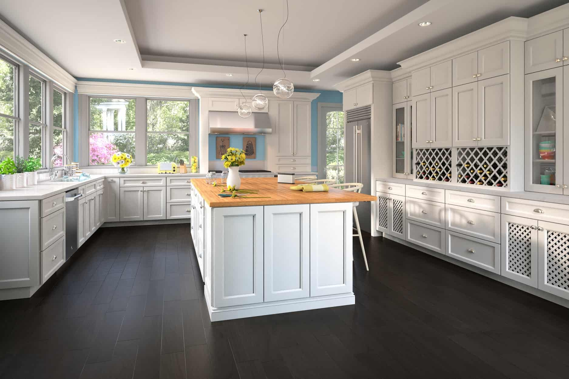What is The Potential Cost to Refinish Your Old Kitchen Cabinets