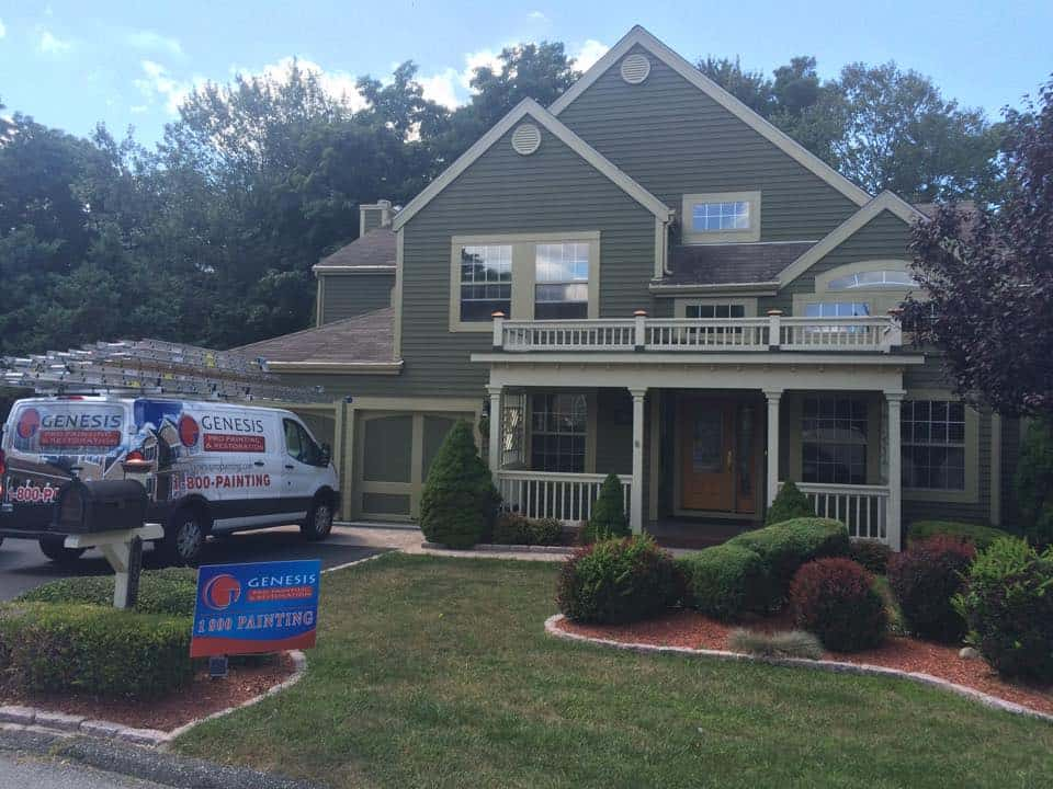 Exterior painting bedford hills should i use a sprayer or brush roll genesis pro painting - Exterior paint sprayers set ...