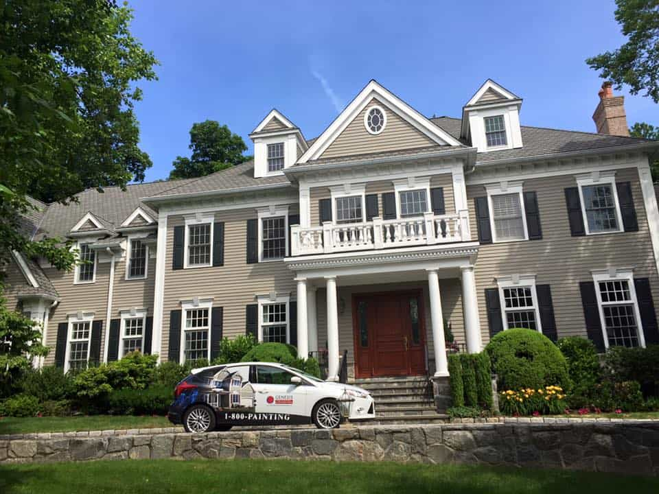 Exterior Home Painting Services Westchester County Ny Genesis Pro - Exterior-home-painting