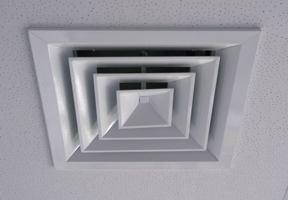 Can the Vents From the Ceiling Be Painted?